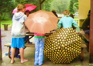 Umbrellas decorate the shelter at the Coquille Chess LaVerne Park Chess Tournament on June 23, the first of a series of three. Next two tournaments are July 7th and July 28th. Hopefully sunscreen instead of umbrellas will be needed at the future events!