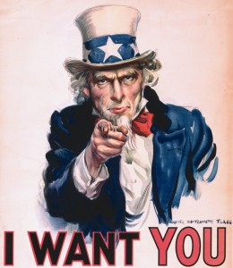 """I Want You For The US Army"""